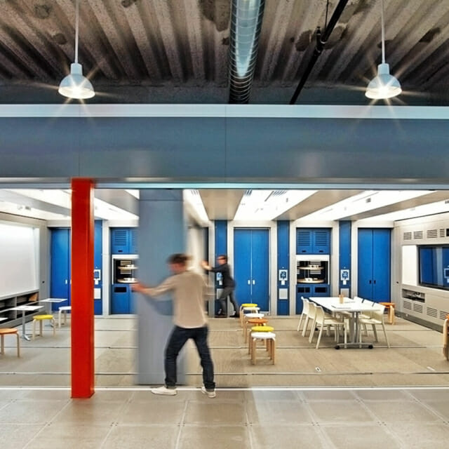Movable walls to create flex spaces - Modern Office Systems