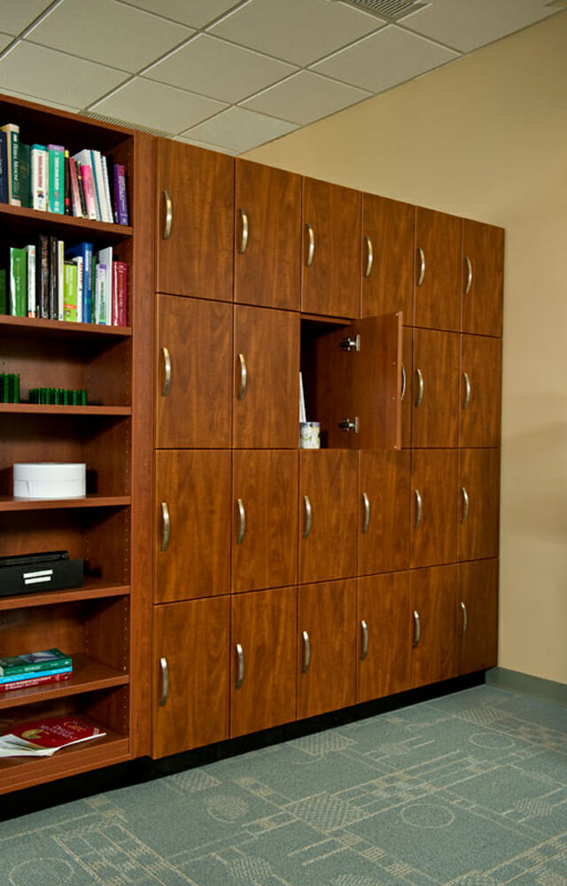 HS Laminate Lockers Office