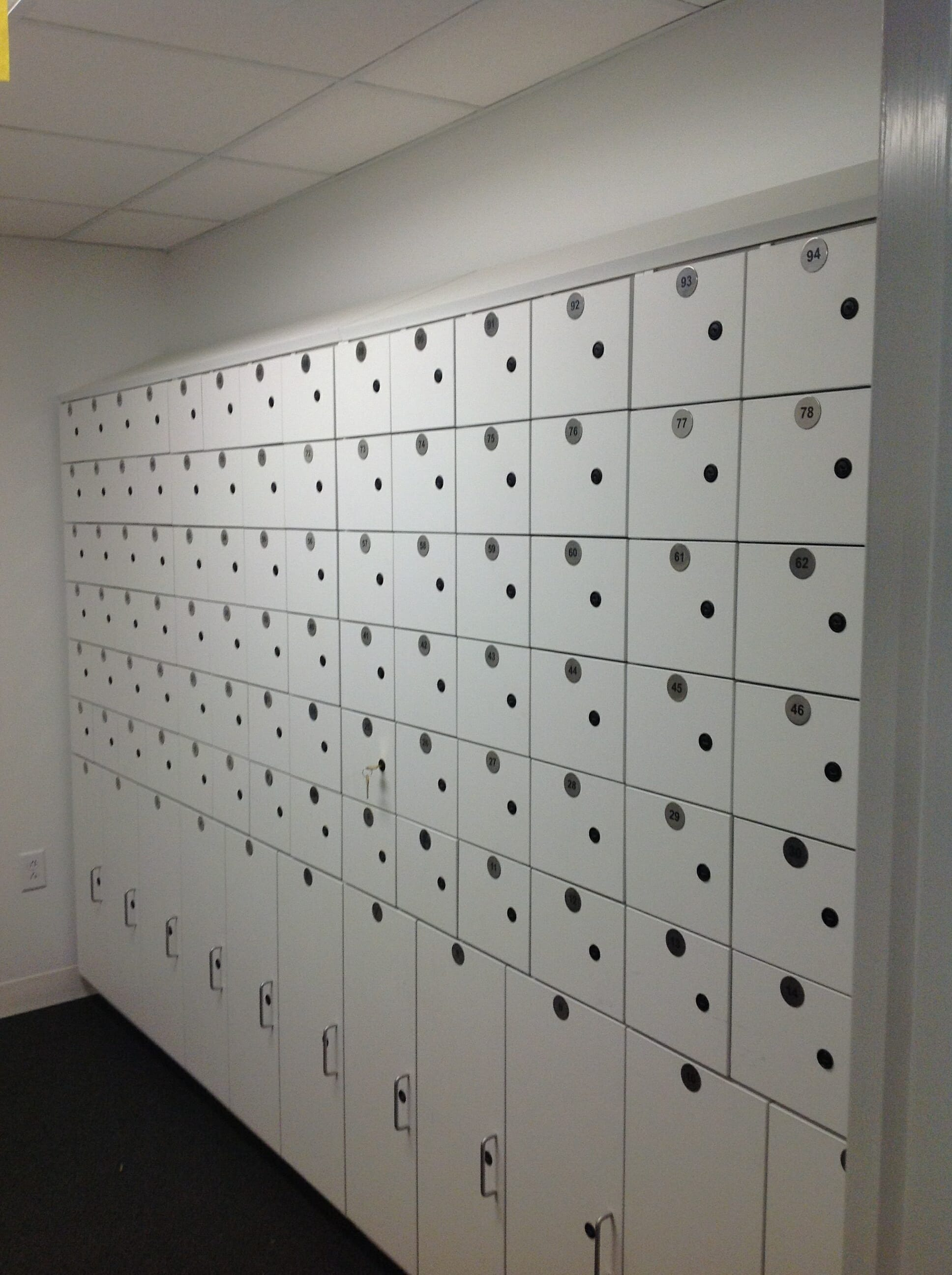 Personal Laminate Lockers
