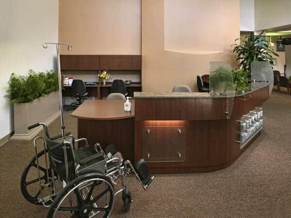 Handicap Accessible Reception Areas