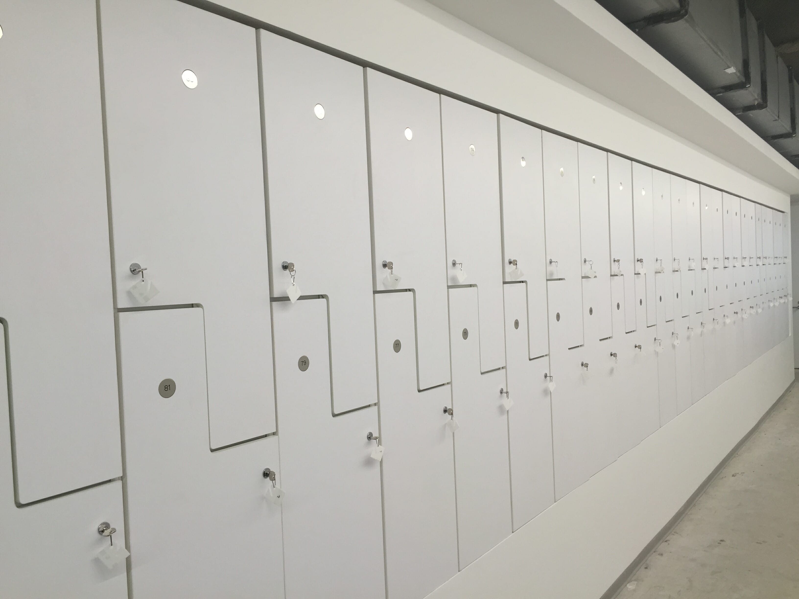 Lockers Modern Office Systems