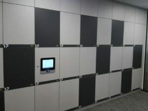 Touch Screen Locker Access