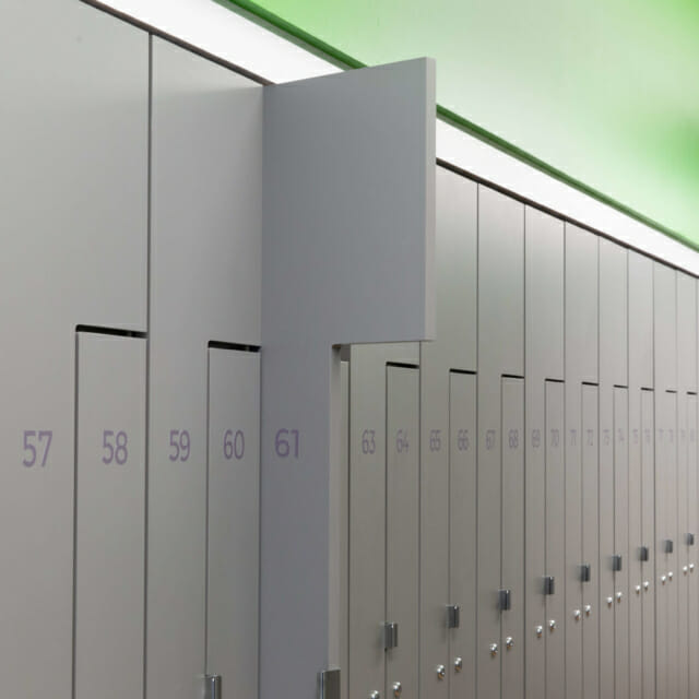 Z-Locker Design for Temporary Storage for hanging and storage of belongings