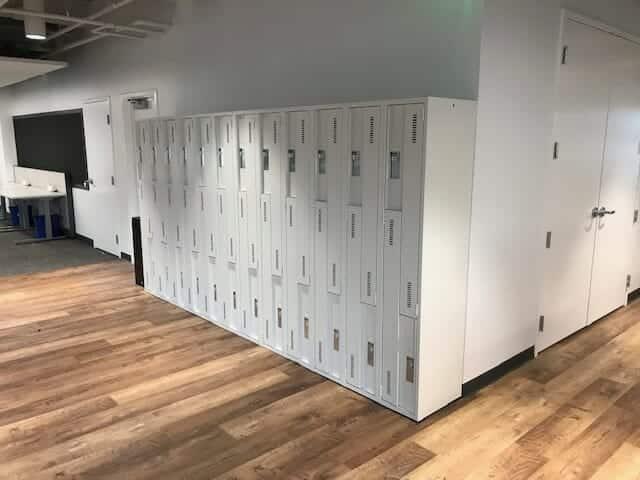 Two Tier Metal Lockers