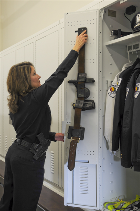 SS Personal Storage Locker for Police Officers