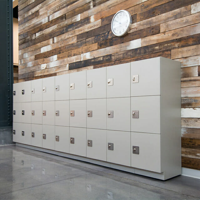 Temporary Use Lockers in Open Office