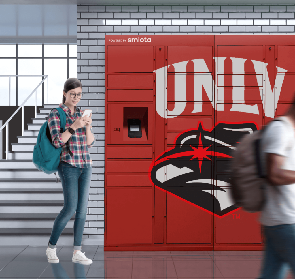 Smart Lockers on Campus