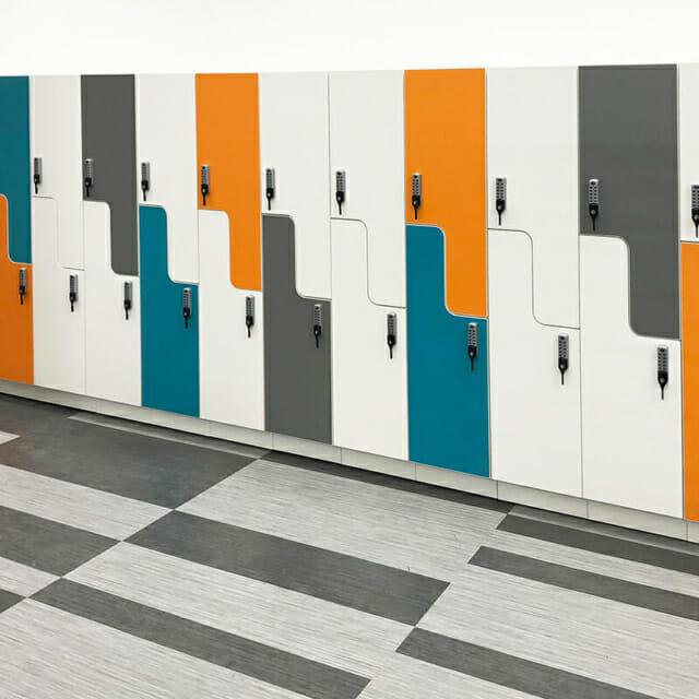 Z Lockers by Hamilton Casework