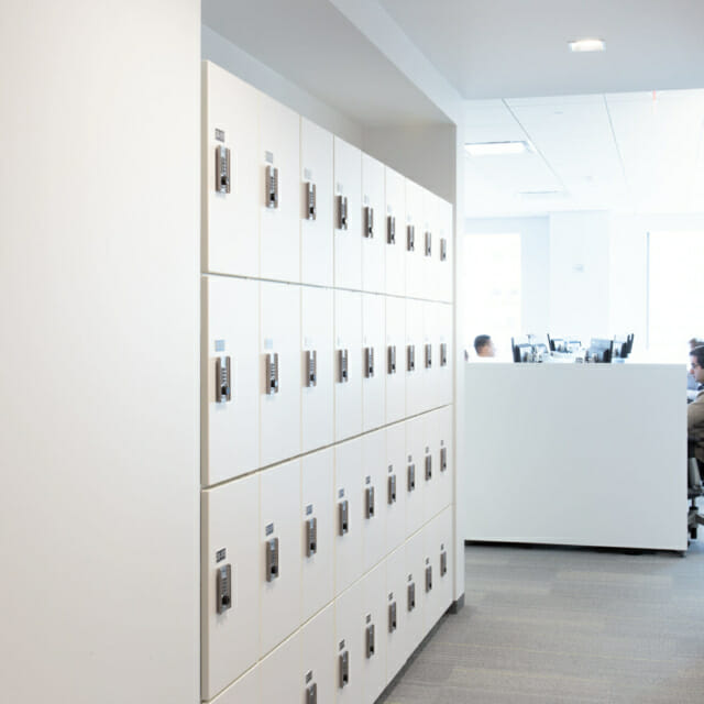 Day-Use Lockers for the Agile Workplace Office