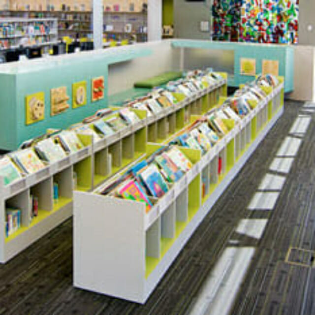 Children's Library Shelving