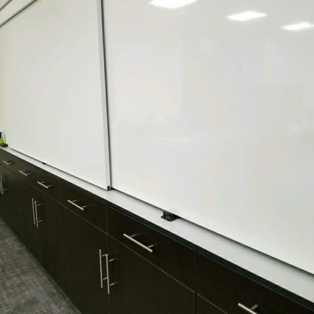 agile, corporate innovation sliding whiteboards caework