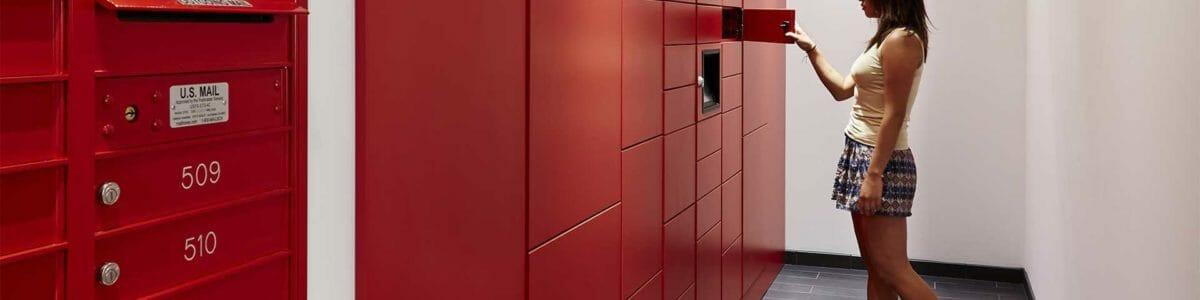 Smart Lockers Modern Office Systems