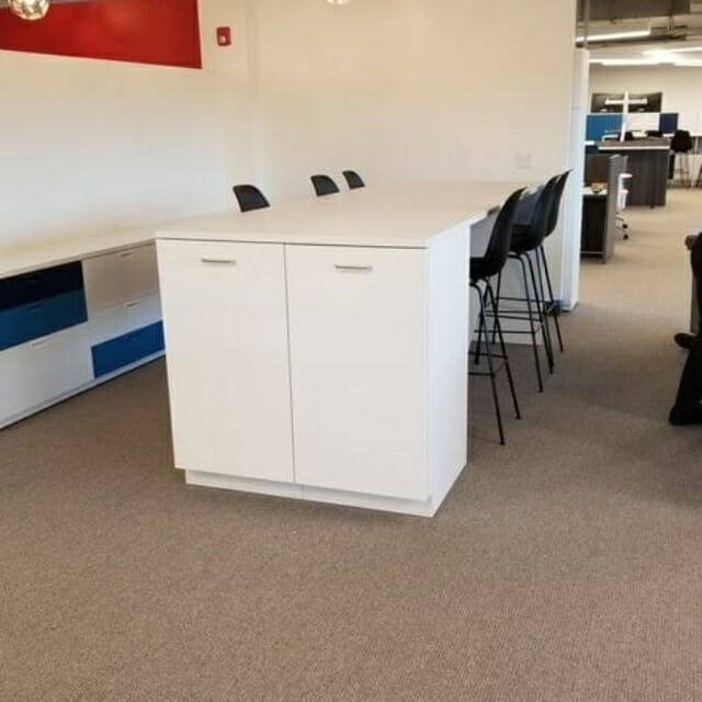 custom island solutions from Hamilton Casework